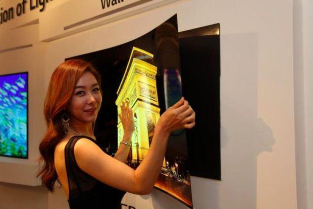 LG's New 55 Inch OLED TV Panel