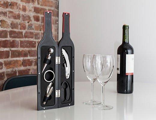 Wine Bottle 5 Piece Accessory Kit