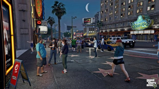 GTA 5 Mod Recreates The Pedestrian Riot