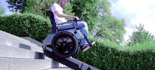 Scalevo Wheelchair Can Climb Stairs