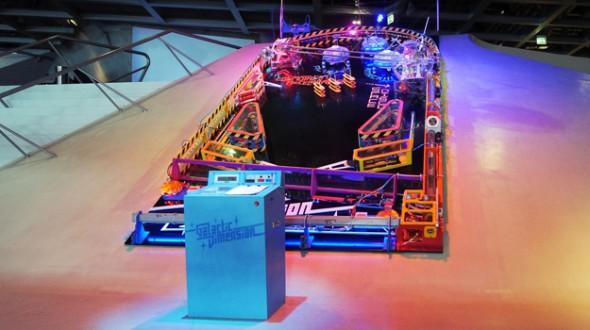 Gigantic Pinball Machine