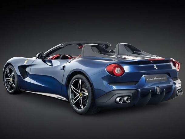 The Ferrari F60 America
