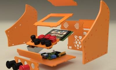 Incredible Raspberry Pi Nano 3D Printed Arcade Cabinet