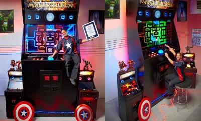 Worlds Largest Arcade Machine