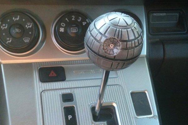 Death Star Shift Knob