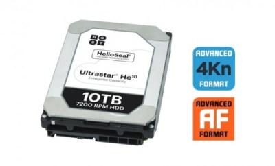 Western Digital 10TB Helium-Filled HD Unveiled