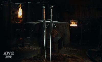 Witcher 3 Swords Forged in Real Life