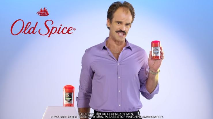 Steven Ogg, Trevor From GTA Demonstrates Old Spice's Amazing Properties