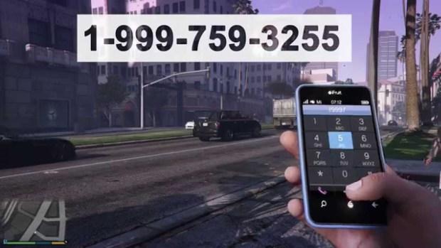 New GTA 5 Cell Phone Cheats