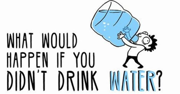 What Will Happen If We Stop Drinking Water