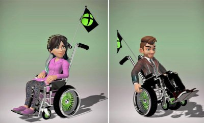 Xbox Wheelchair Avatars
