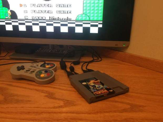 Nintendo Cartridge is Hiding a Raspberry Pi Computer Inside