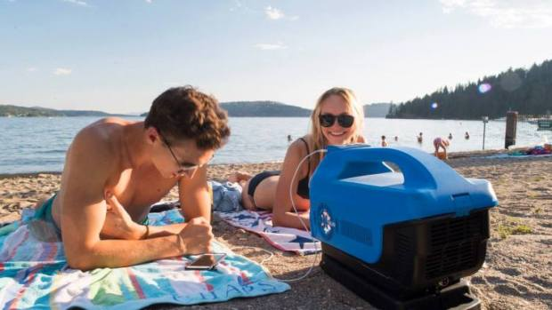 Battery-Powered Portable Air Conditioner