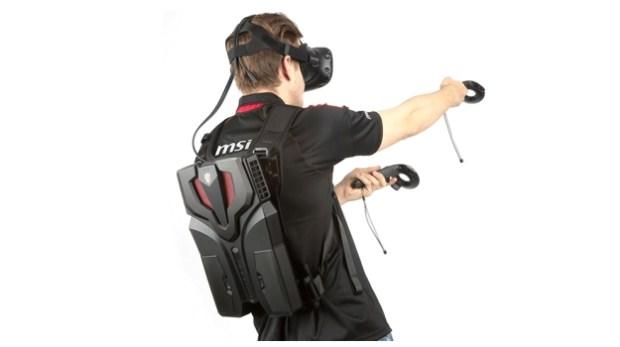 MSI's VR PC Backpack