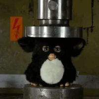 A Furby Faced The Mighty Hydraulic Press In This Heart Breaking Video