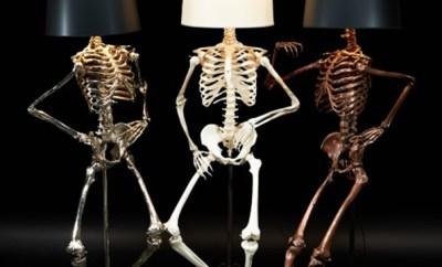 Life Size Skeleton Lamps