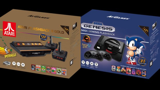 Retro Games Consoles