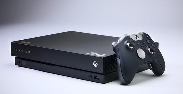 Steph Curry Xbox One X Bundle
