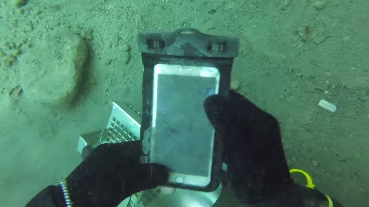 Someone Found a Working iPhone 6 Plus Underwater And Returned To The Owner