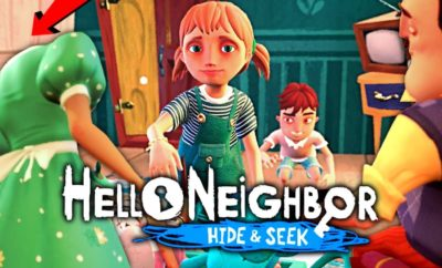Hello Neighbor Hide And Seek Release Date And Reveal