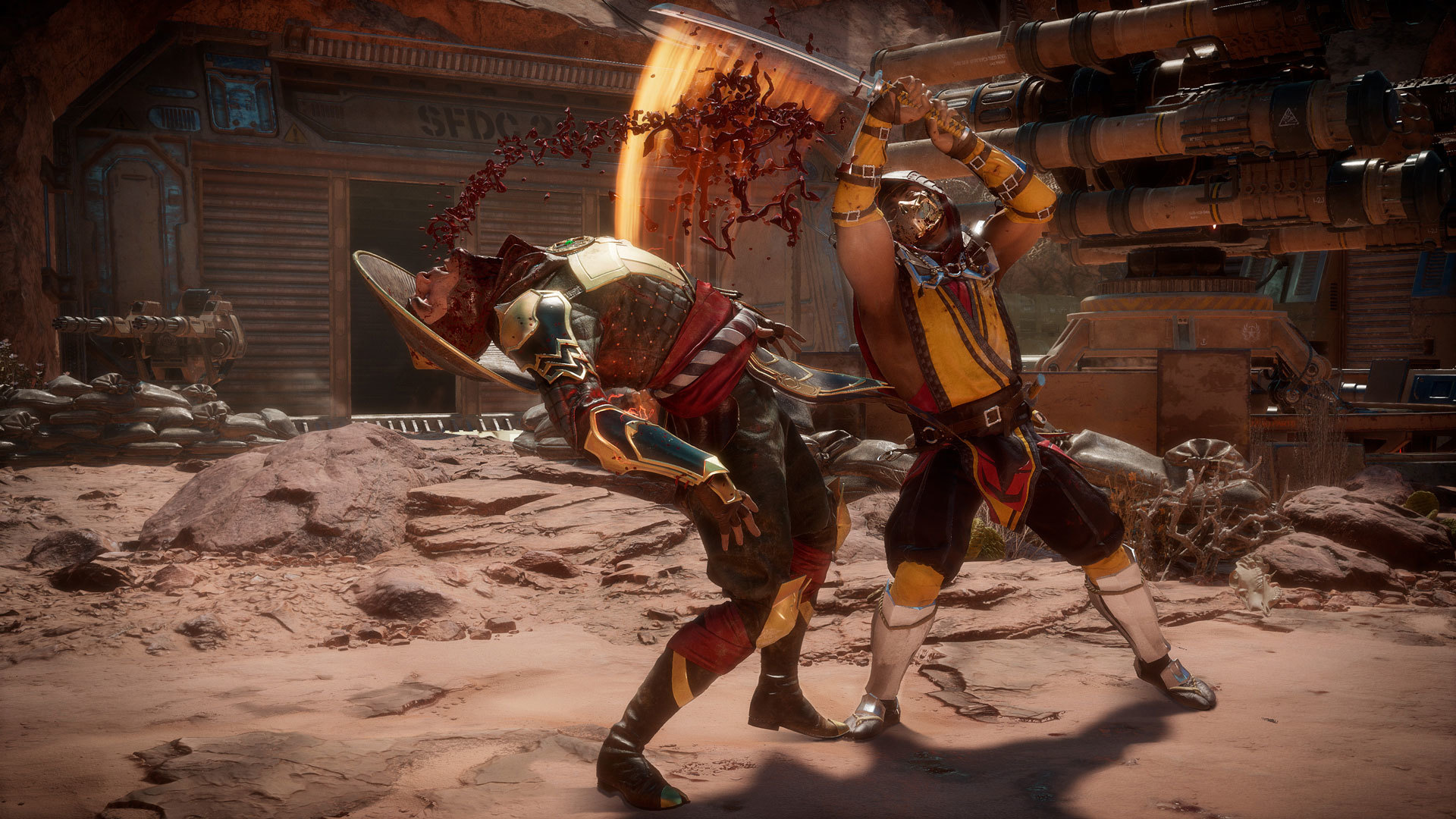 Some People Arent Happy About Mortal Kombat 11s Censored