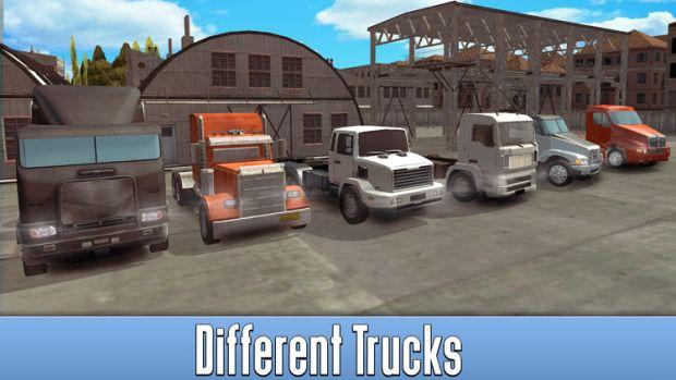 American 3D Truck Driving