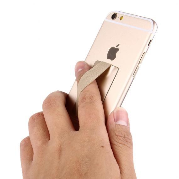 The Fone Stuff® Elastic Finger Grip Phone & Tablet Holder