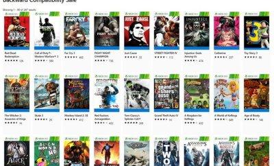 Backwards Compatibility Sale