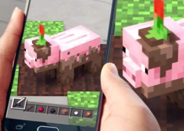 Minecraft-AR-game
