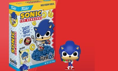 SONIC THE HEDGEHOG Cereal