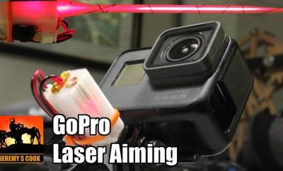 GoPro Laser Targeting System
