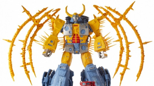 Hasbro's Unicron SDCC Transformer Toy