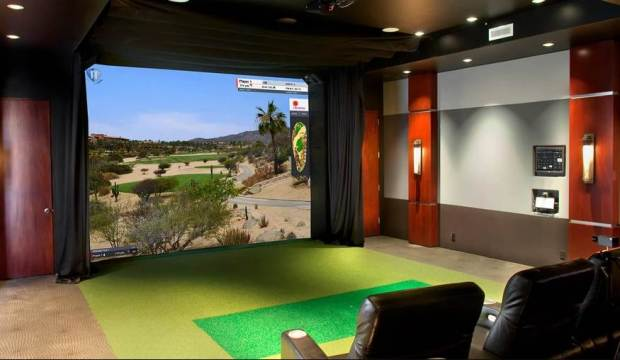 Golf-man-cave