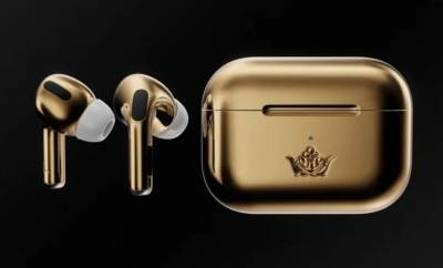 Gold Apple AirPods Pro