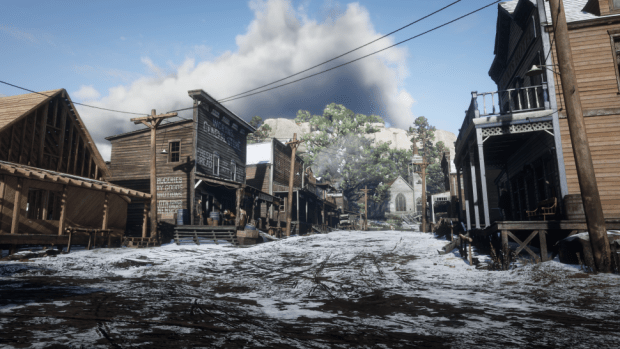 RED DEAD 2 Snow