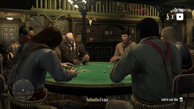 Red Dead Redemption (Liar's Dice)
