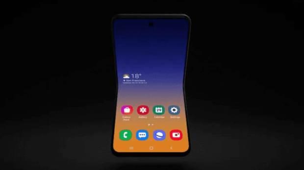 Samsungs Clamshell Phone