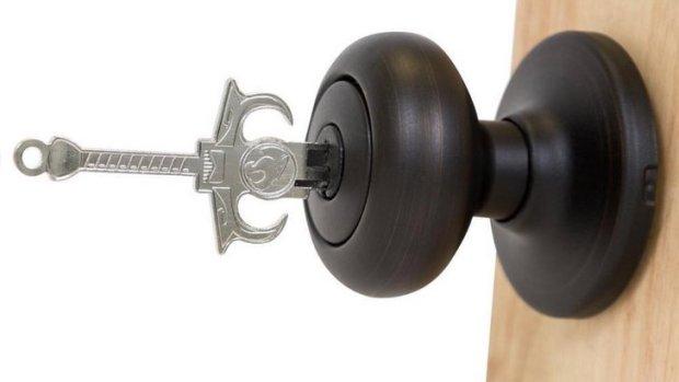 Sword-Shaped House Keys