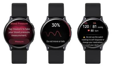 Samsung Blood Pressure Monitoring App