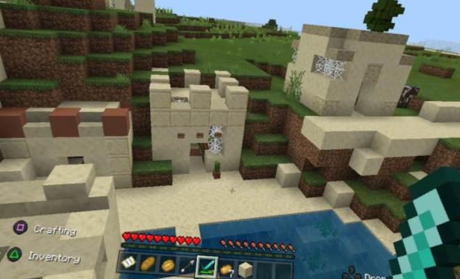 Minecraft PSVR