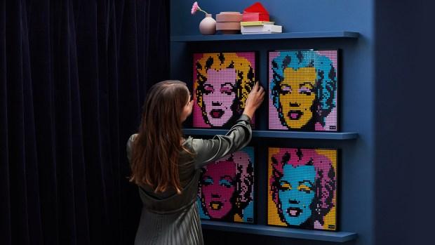 Lego Marilyn Monroe