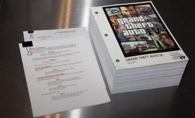 Video Game Script