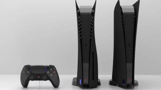 PS2 Themed Black PS5