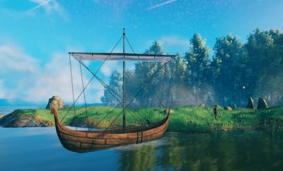 How to Build a Boat in Valheim