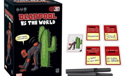 DEADPOOL VS THE WORLD Adult Party Game