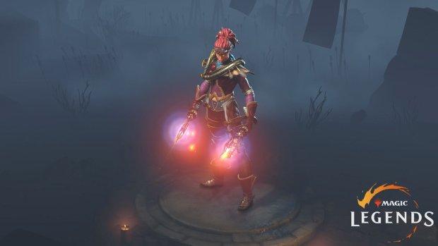 magic legends pyromancer