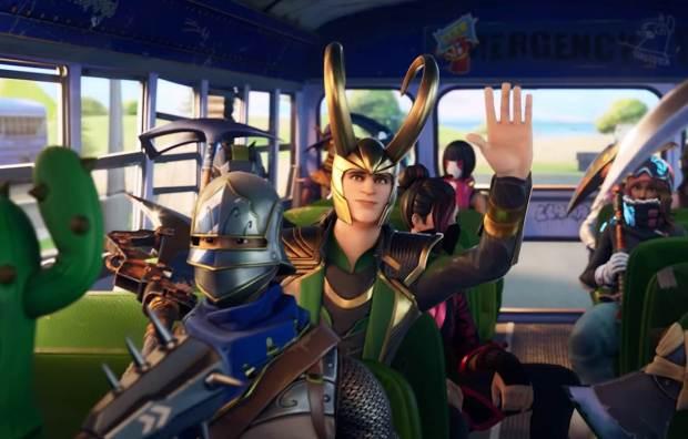 Loki Joins Fortnite