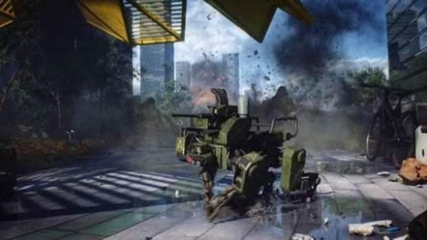 Robot Dog in Battlefield 2042
