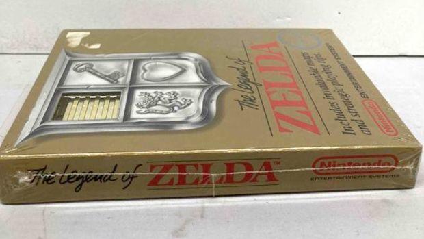 Sealed Copy of NES 'Legend of Zelda'