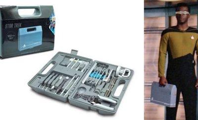 STAR TREK-Themed 100 Piece Engineering Field Kit